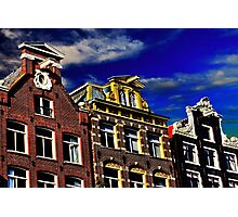 Buildings in Amsterdam Fine Art Print Photographic Print