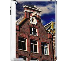 Buildings in Amsterdam Fine Art Print iPad Case/Skin