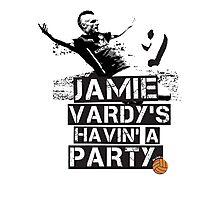 Jamie Vardy LCFC Photographic Print