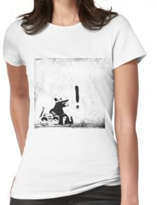 Rocking it old school Womens Fitted T-Shirt