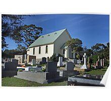St. Barnabas Church - South Arm, Tasmania Poster