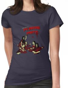 Pyjamas Party Womens Fitted T-Shirt