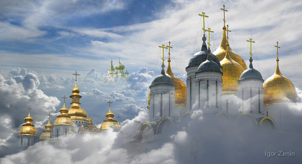 Heavenly Domes by Igor Zenin