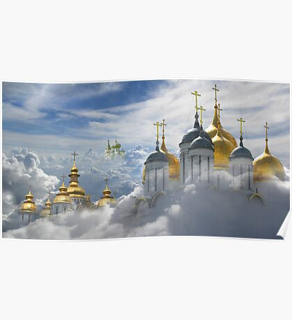 Heavenly Domes Poster