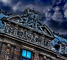 Paris Louvre Museum Fine Art Print by stockfineart