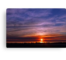 Applecross Sunset  Canvas Print