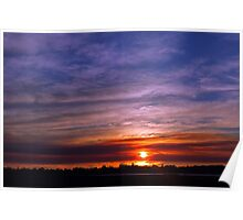 Applecross Sunset  Poster