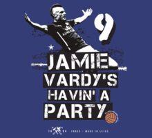 Jamie Vardy LCFC by NTCS