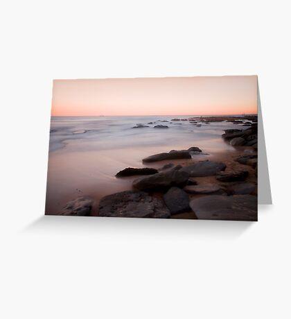 Towoon Bay rockside Greeting Card