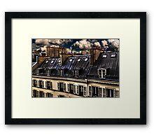 Building In Paris Fine Art Print Framed Print