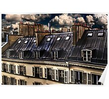 Building In Paris Fine Art Print Poster