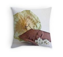 Ikebana-140 Throw Pillow