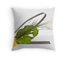 Ikebana-137 Throw Pillow