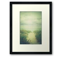 Finding Calm Framed Print
