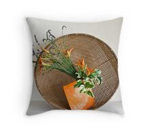 Ikebana-138 Throw Pillow