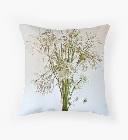 Ikebana-136 Throw Pillow