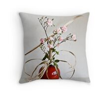 Ikebana-134 Throw Pillow