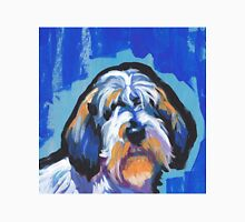 PBGV petit basset griffon vendeen Bright colorful pop dog art Unisex T-Shirt