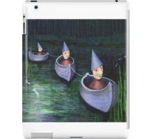 Drifting down stream iPad Case/Skin