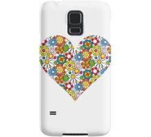 Heart full of Flowers! Samsung Galaxy Case/Skin