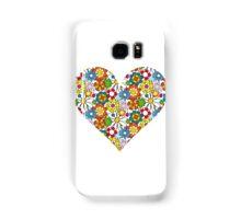 Flower-Heart Samsung Galaxy Case/Skin