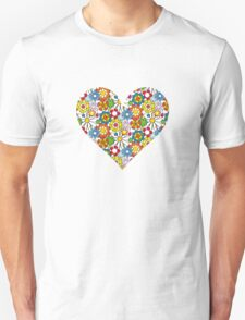 Flower-Heart T-Shirt