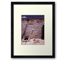 A Wall Framed Print