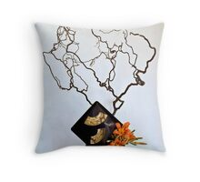 Ikebana-131 Throw Pillow