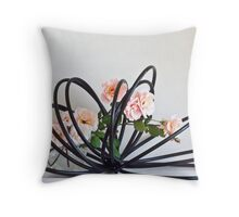 Ikebana-129 Throw Pillow