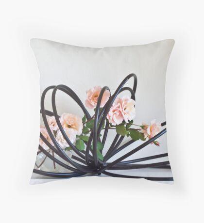 Ikebana-129 Throw Pillow