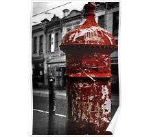 Red Letterbox Poster
