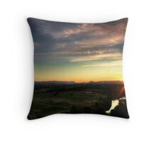 Brushy Cutting Lookout HDR Throw Pillow
