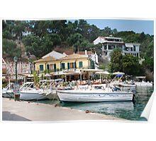 Lakka harbour, Paxos Poster