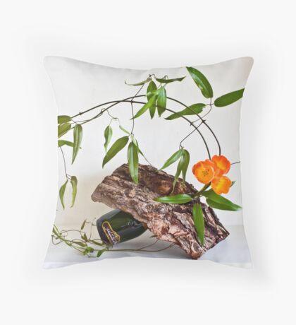 Ikebana-120 Throw Pillow