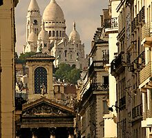 Paris, rue Laffitte by Carlo Biondi