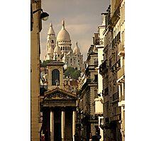 Paris, rue Laffitte Photographic Print