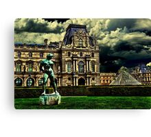 Louvre Museum Paris Fine Art Print Canvas Print