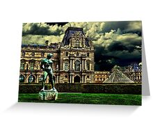 Louvre Museum Paris Fine Art Print Greeting Card