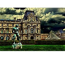 Louvre Museum Paris Fine Art Print Photographic Print