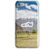 Football Boot Mountains iPhone Case/Skin