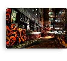 Laneway Moods. Canvas Print
