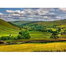 Looking Down The Dale. Photographic Print