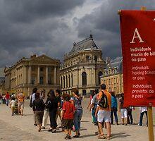 Storm In Versailles by hughkirkpatrick