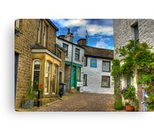Dent Village Street Canvas Print