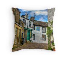 Dent Village Street Throw Pillow