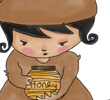 Honey Jar Bear Sticker