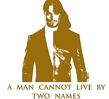A Man Cannot Live by Two Names by aasgo123