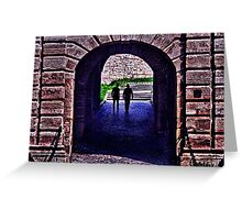 Fortress Kalemgdan Gate Belgrade Greeting Card