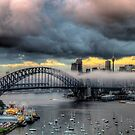 The Big Smoke -Shadows & Mist - Moods Of A City - The HDR Experience by Philip Johnson