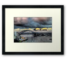 The Big Smoke -Shadows & Mist - Moods Of A City - The HDR Experience Framed Print